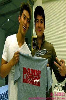 Taecyeon dan Daniel Mananta DAMN I Love Indonesia