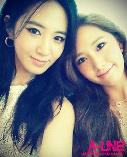 YoonA Yuri selca