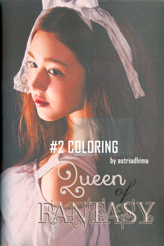 #2 Coloring Queen of Fantasy by astriadhima